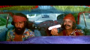 "Cheech and Chong in ""Up in Smoke"""